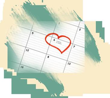 Выберите дату свадьбы и подайте заявление в ЗАГС